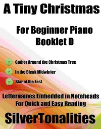 Cover A Tiny Christmas for Beginner Piano Booklet D