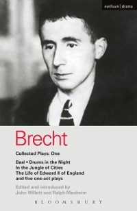 Cover Brecht Collected Plays: 1