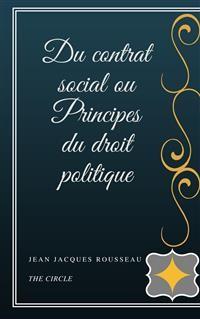 Cover Du contrat social ou Principes du droit politique