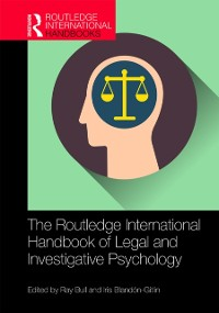 Cover Routledge International Handbook of Legal and Investigative Psychology