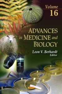 Cover Advances in Medicine and Biology. Volume 16