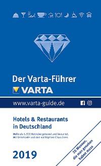 Cover Der Varta-Führer 2019 Hotels und Restaurants in Deutschland