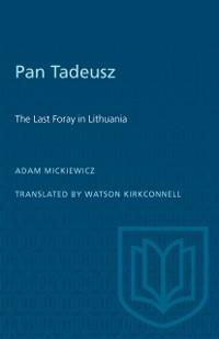 Cover Pan Tadeusz