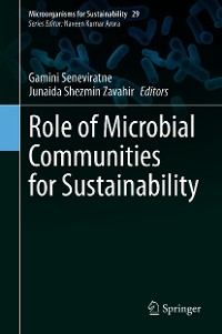 Cover Role of Microbial Communities for Sustainability