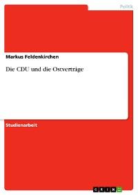 Cover Die CDU und die Ostverträge