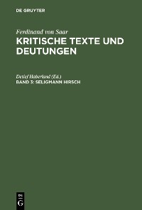 Cover Seligmann Hirsch