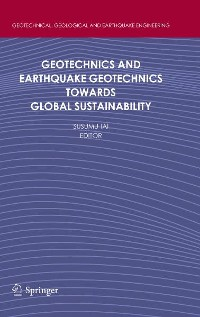 Cover Geotechnics and Earthquake Geotechnics Towards Global Sustainability