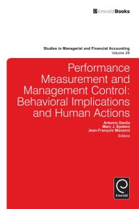 Cover Performance Measurement and Management Control