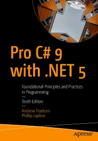 Cover Pro C# 9 with .NET 5