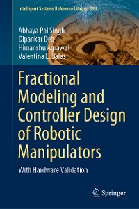 Cover Fractional Modeling and Controller Design of Robotic Manipulators
