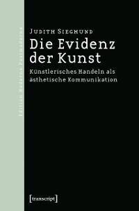 Cover Die Evidenz der Kunst