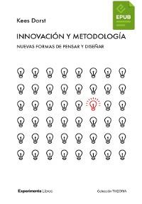 Cover Innovación y metodología