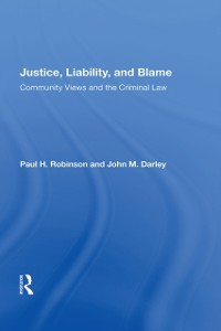Cover Justice, Liability, And Blame