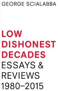 Cover Low Dishonest Decades