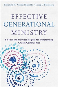 Cover Effective Generational Ministry