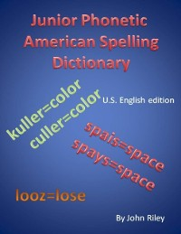 Cover Junior Phonetic American Spelling Dictionary
