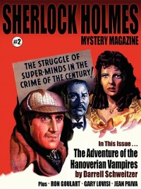 Cover Sherlock Holmes Mystery Magazine #2