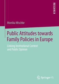 Cover Public Attitudes toward Family Policies in Europe