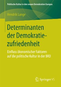Cover Determinanten der Demokratiezufriedenheit