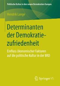 Cover Determinanten der Demokratiezufriedenheit