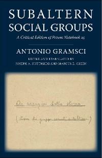 Cover Subaltern Social Groups