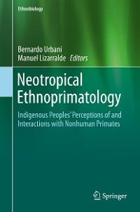 Cover Neotropical Ethnoprimatology
