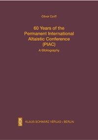 Cover 60 Years of the Permanent International Altaistic Conference (PIAC)