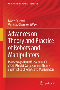 Cover Advances on Theory and Practice of Robots and Manipulators