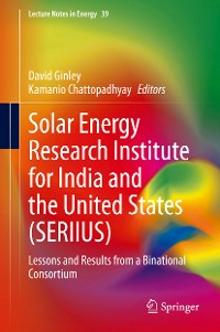 Cover Solar Energy Research Institute for India and the United States (SERIIUS)