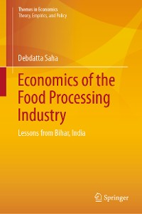 Cover Economics of the Food Processing Industry