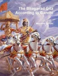 Cover The Bhagavad Gita According to Gandhi