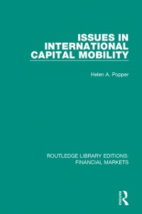Cover Issues in International Capital Mobility