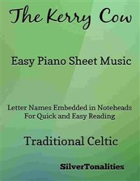 Cover The Kerry Cow Easy Piano Sheet Music