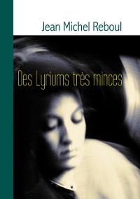 Cover Des Lyriums très minces