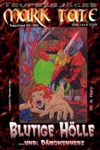 Cover TEUFELSJÄGER 081-082: Blutige Hölle