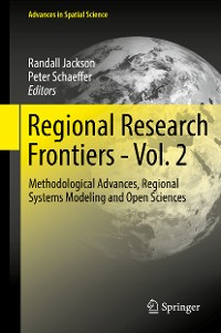 Cover Regional Research Frontiers - Vol. 2