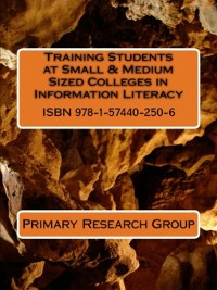Cover Training Students at Small & Medium Sized Colleges in Information Literacy