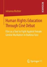 Cover Human Rights Education Through Ciné Débat