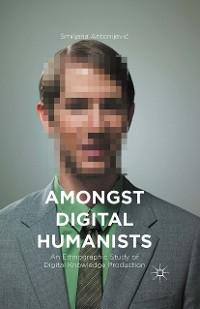 Cover Amongst Digital Humanists