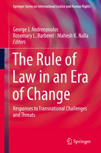 Cover The Rule of Law in an Era of Change