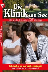 Cover Die Klinik am See 44 – Arztroman
