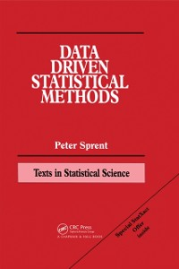 Cover Data Driven Statistical Methods
