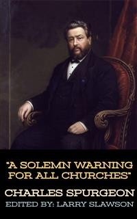 Cover A Solemn Warning For All Churches