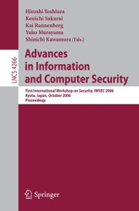 Cover Advances in Information and Computer Security