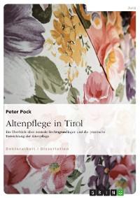 Cover Altenpflege in Tirol