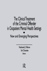Cover Clinical Treatment of the Criminal Offender in Outpatient Mental Health Settings