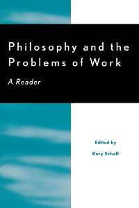 Cover Philosophy and the Problems of Work