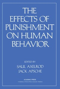 Cover Effects of Punishment on Human Behavior
