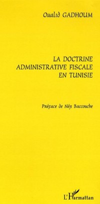Cover Doctrine administrative fiscale en tunis