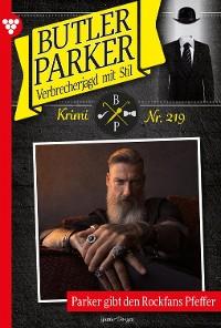 Cover Butler Parker 219 – Kriminalroman